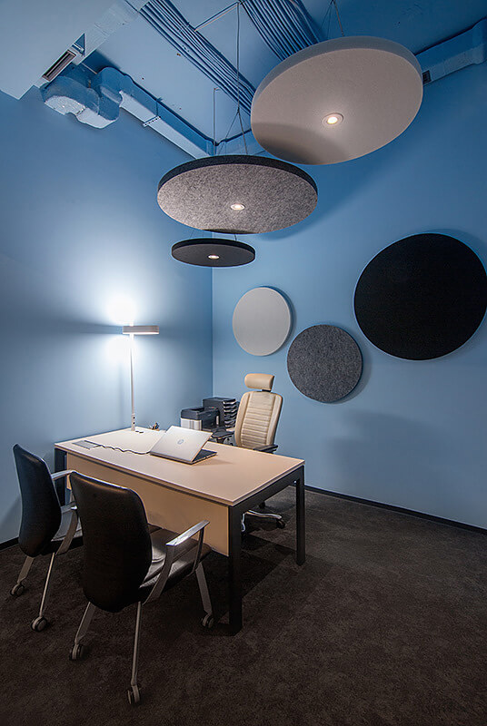 OPEN modern office design SPACE and acoustics 3