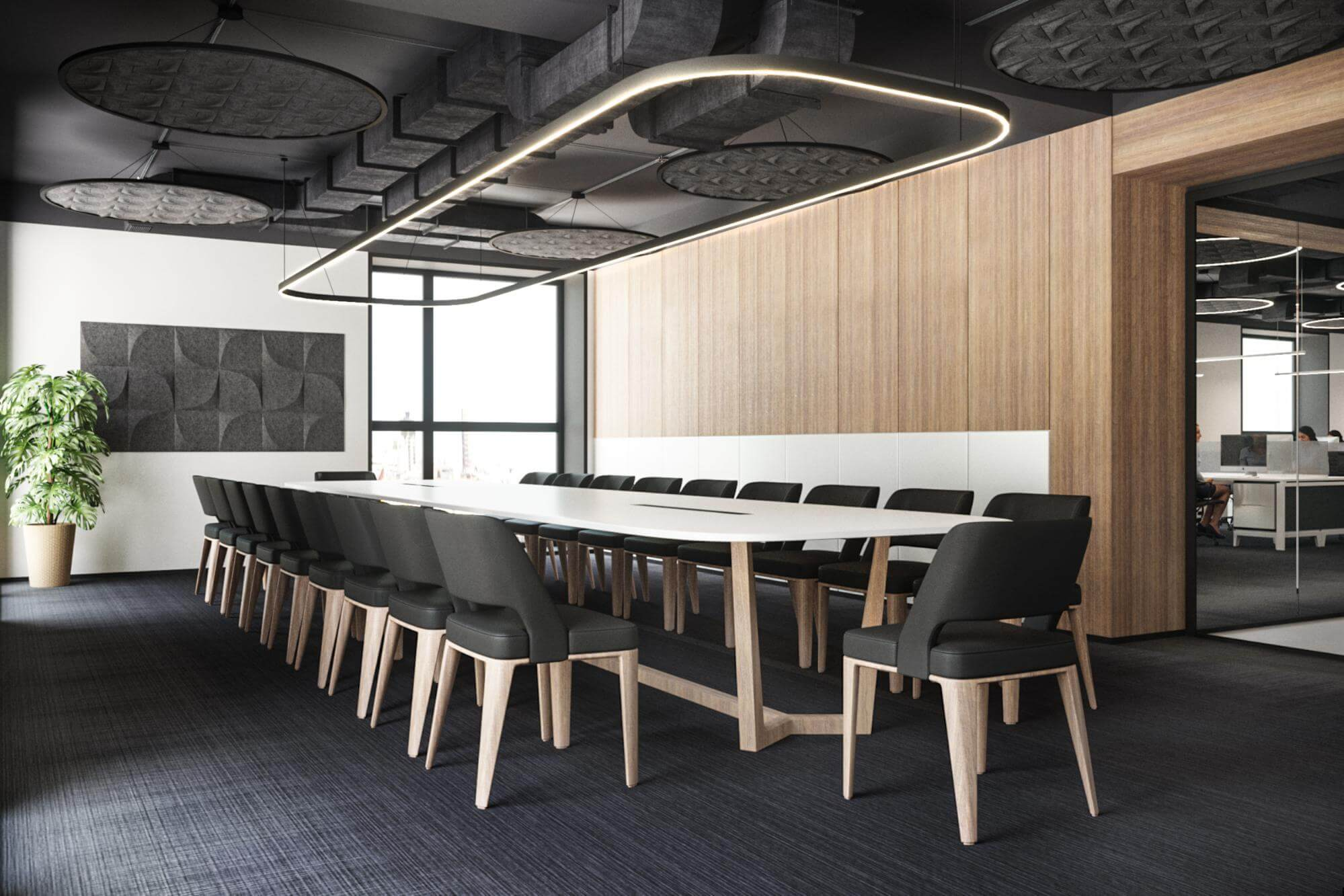 OPEN modern office design SPACE and acoustics 5