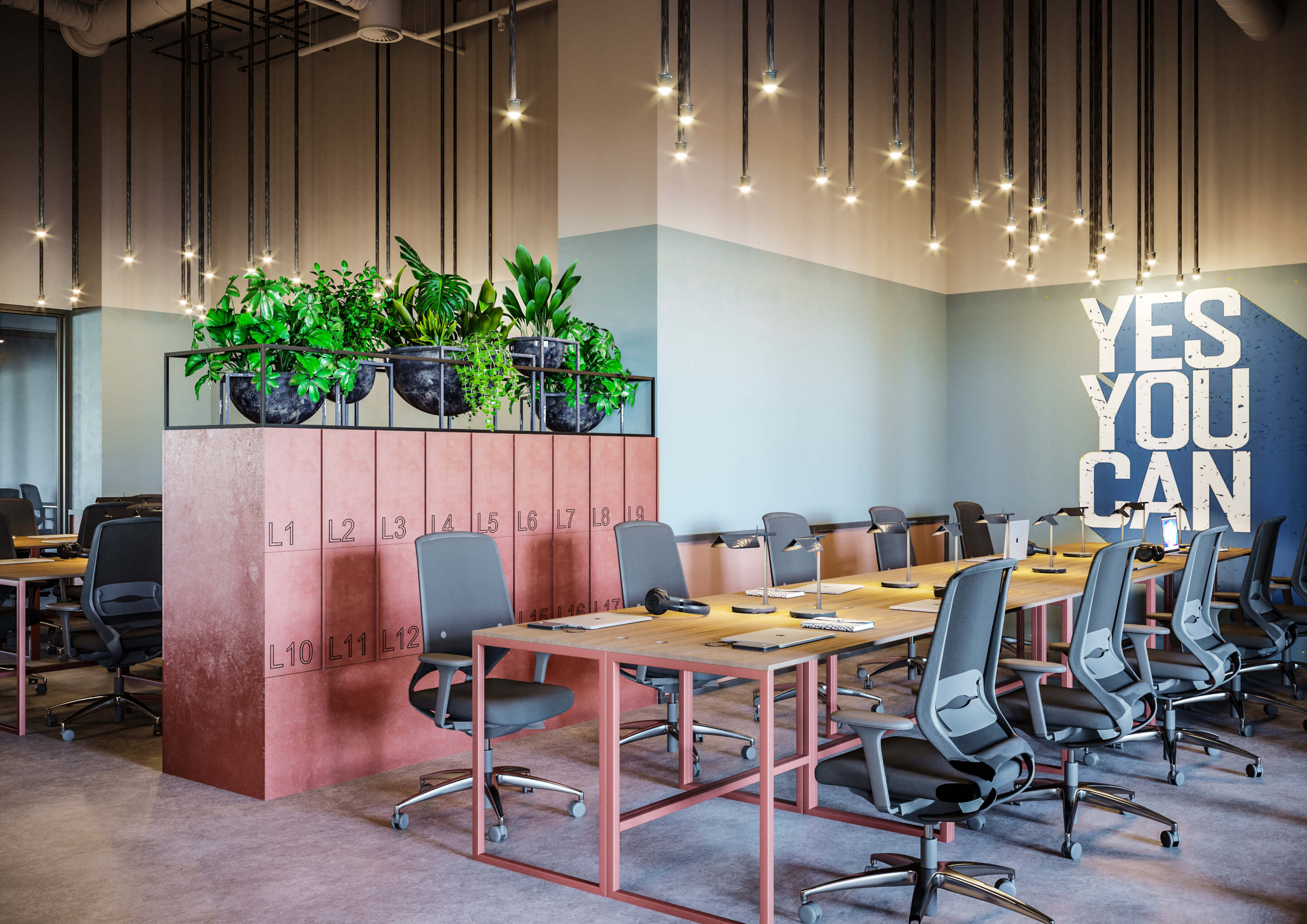 Strengthening the benefits of the co-working space through design 9
