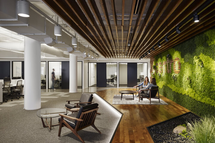 How to organize interior design of the office to enhance the creative employees' creative potential? 4