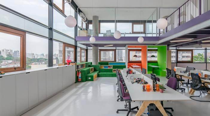 How to organize interior design of the office to enhance the creative employees' creative potential? 8