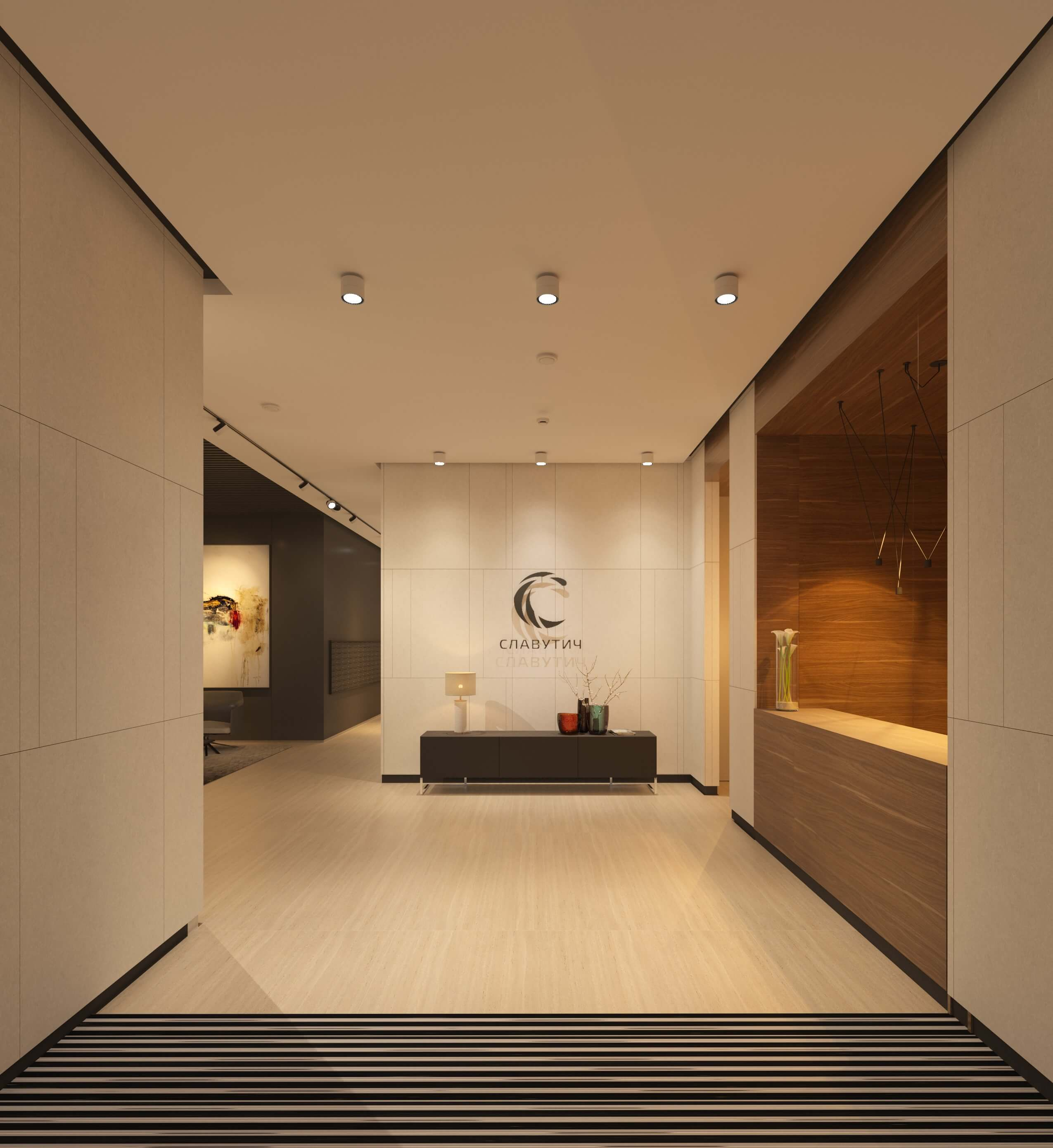 Common areas of modern residential complexes 6 2