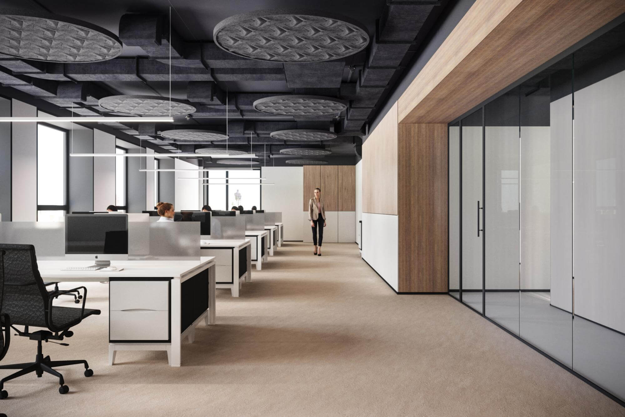 How office design can attract and retain specialists?