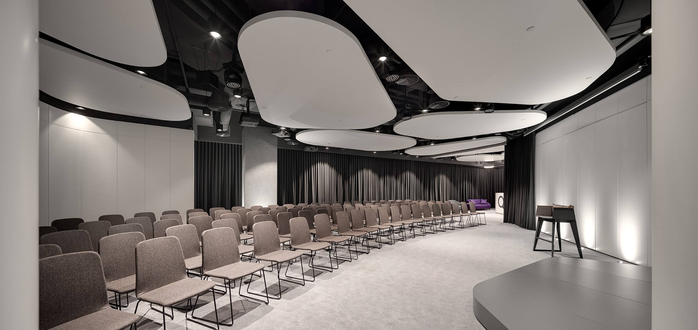 Interior design of conference rooms