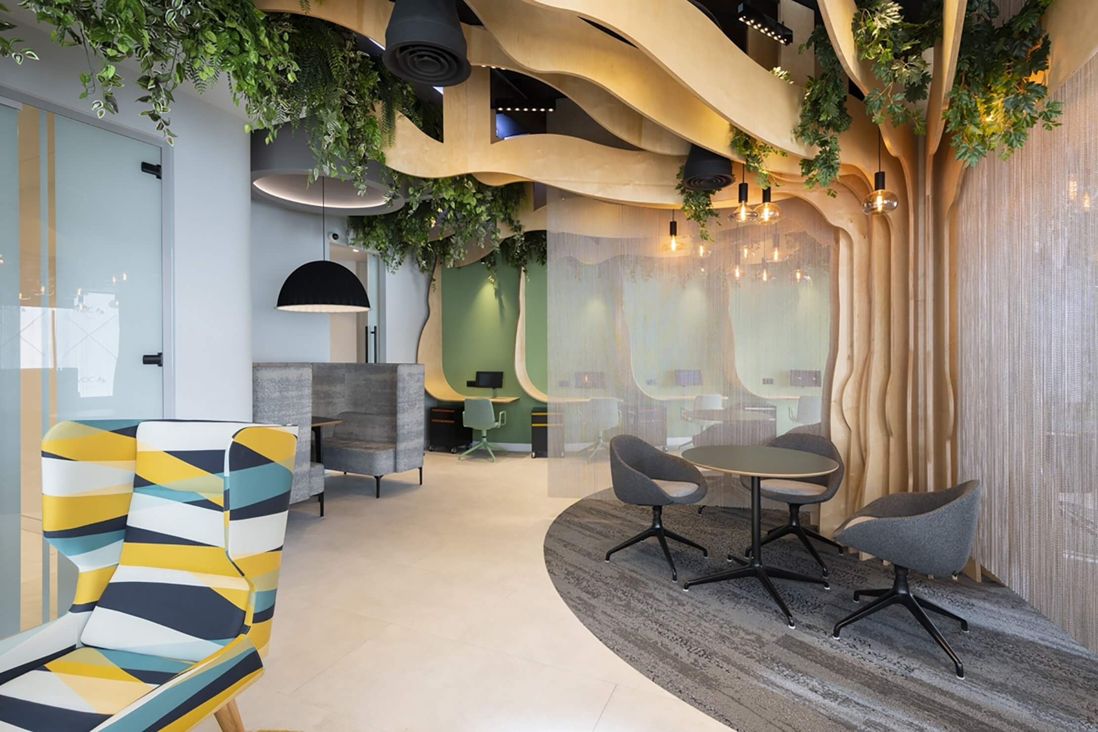 Biophilic design in office spaces 1