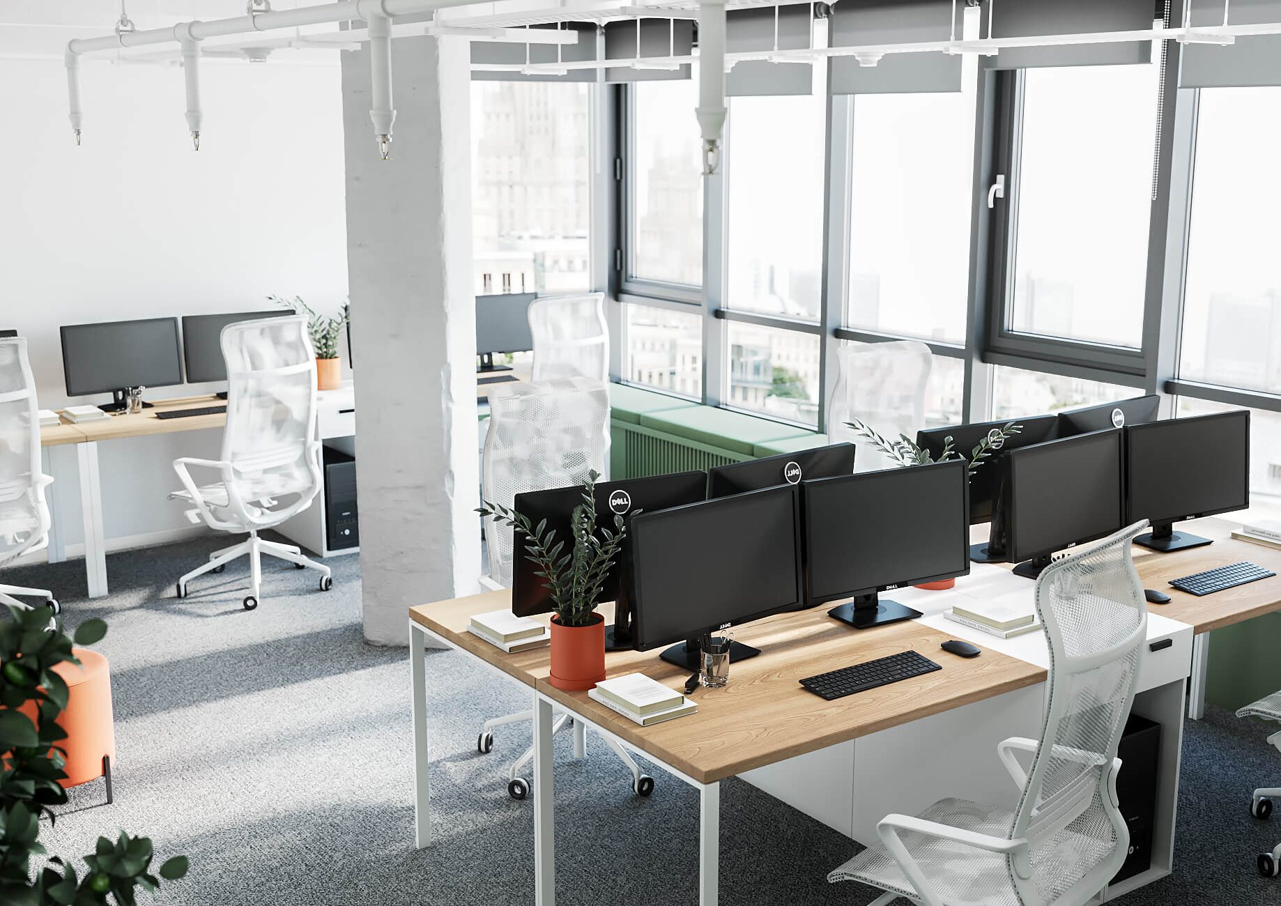 Flexible office space – the future of the commercial office