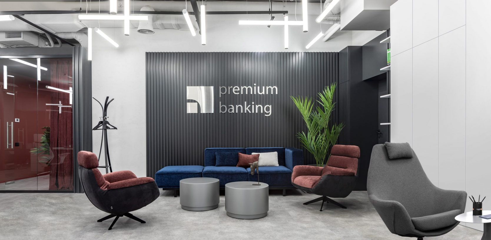Bank of the future.  How the trendy interior is changing the attitude of customers towards banking institutions