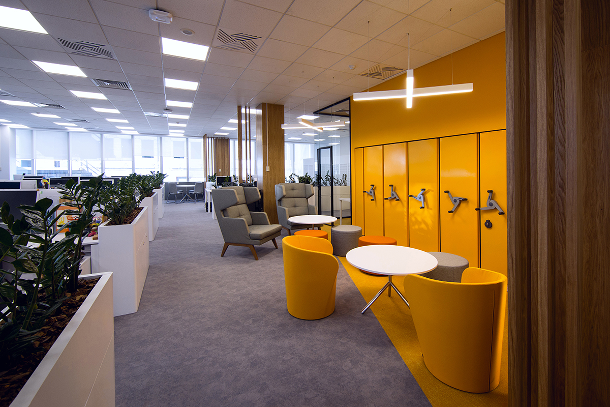 Bank of the future.  How the trendy interior is changing the attitude of customers towards banking institutions 3