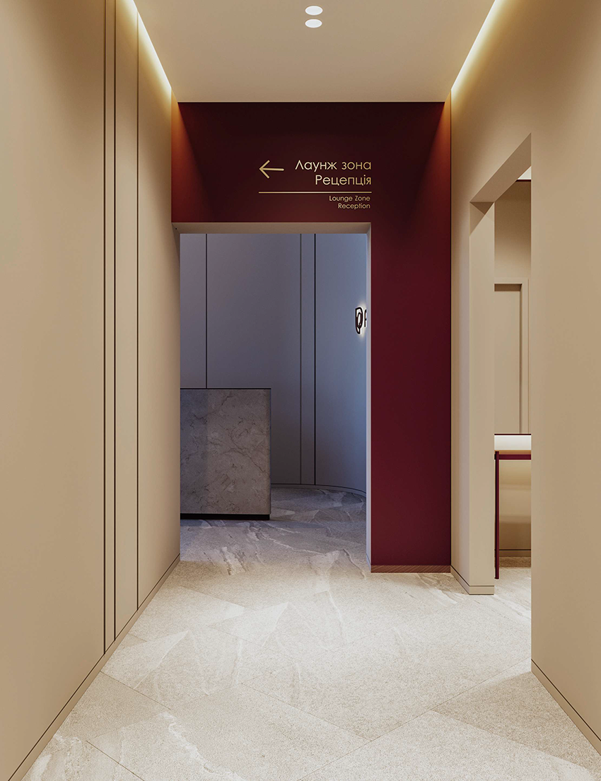 Public spaces interior Features of the development of the design of the project for residential complexes 3